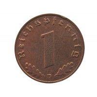 Германия 1 пфенниг 1938 г. D
