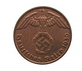 Германия 1 пфенниг 1939 г. B