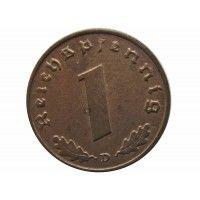 Германия 1 пфенниг 1939 г. D