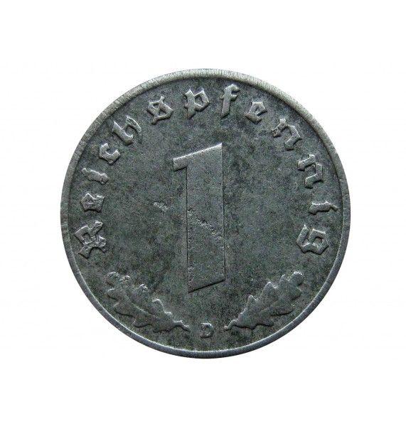 Германия 1 пфенниг 1942 г. D