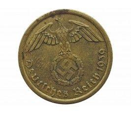 Германия 10 пфеннигов 1939 г. А