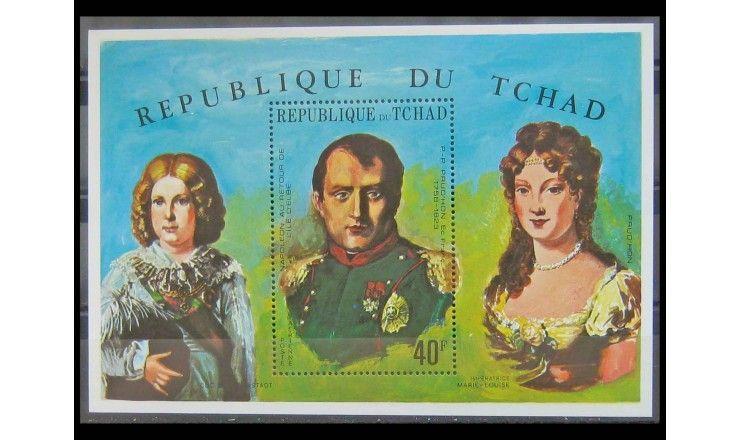 """Чад 1971 г. """"Наполеон Бонапарт"""""""