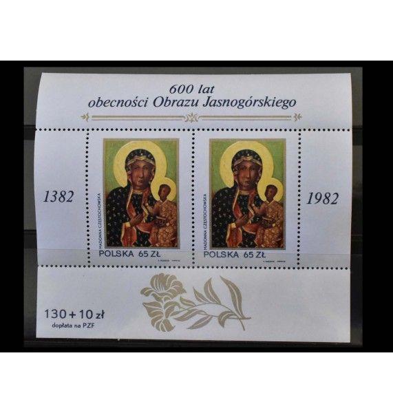 """Польша 1982 г. """"Ченстоховская икона Божией Матери"""""""