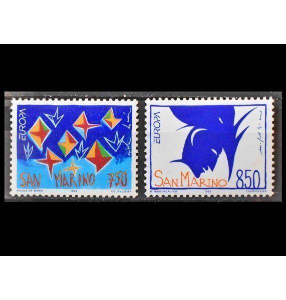 """Сан-Марино 1993 г. """"Европа: Современное искусство"""""""