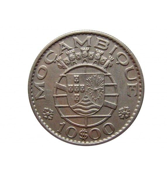 Мозамбик 10 эскудо 1968 г.
