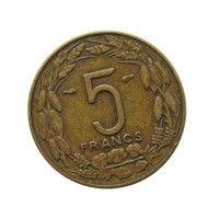 Камерун 5 франков 1958 г.