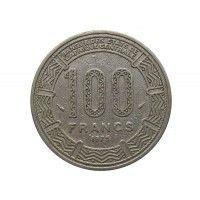 Камерун 100 франков 1975 г.