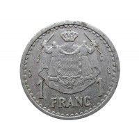 Монако 1 франк 1943 г.