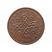 Остров Мэн 1 новый пенни 1971 г.