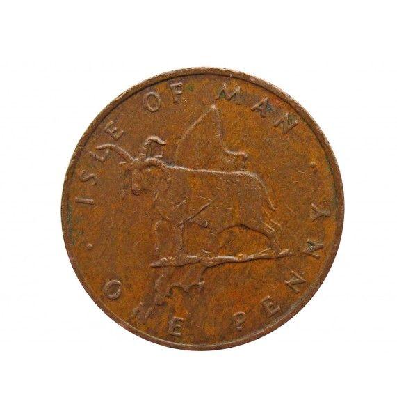 Остров Мэн 1 пенни 1976 г.