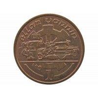 Остров Мэн 1 пенни 1991 г. AА
