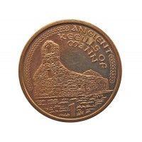 Остров Мэн 1 пенни 2000 г. AА