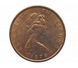 Остров Мэн 1/2 пенни 1976 г.