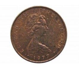 Остров Мэн 1/2 пенни 1977 г. (ФАО - еда для всех)