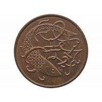 Остров Мэн 1/2 пенни 1980 г. AA