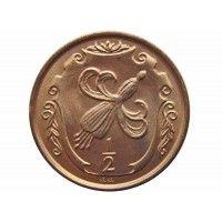 Остров Мэн 1/2 пенни 1984 г. AA (500 лет Геральдической палате)