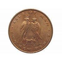 Остров Мэн 2 новых пенса 1971 г.