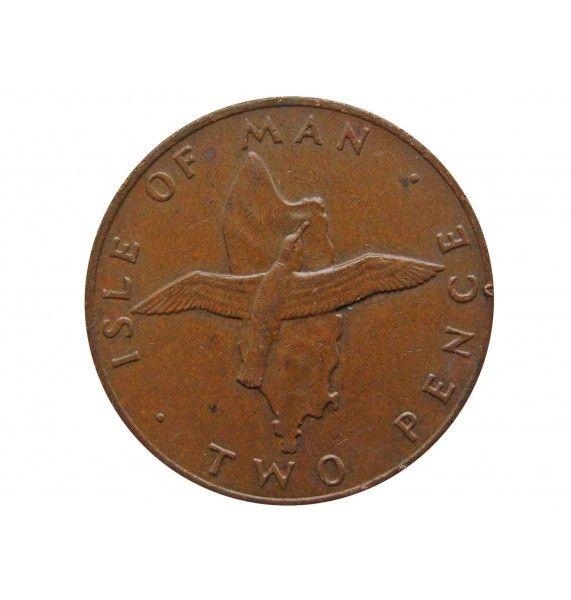 Остров Мэн 2 пенса 1976 г.