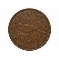 Новая Зеландия 1 пенни 1944 г.