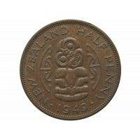 Новая Зеландия 1/2 пенни 1949 г.