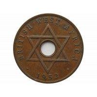 Британская Западная Африка 1 пенни 1952 г. KN