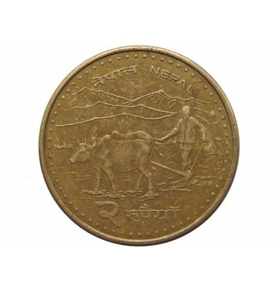 Непал 2 рупии 2009 г. (2066)