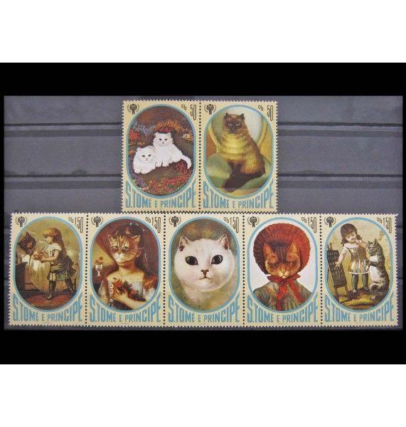 """Сан-Томе и Принсипи 1981 г. """"Международный год ребенка"""""""