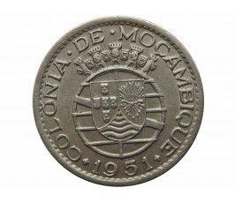 Мозамбик 1 эскудо 1951 г.