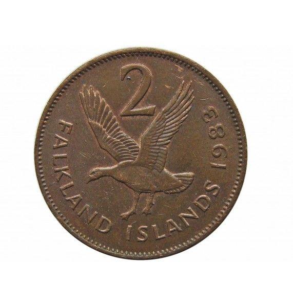 Фолклендские острова 2 пенса 1983 г.