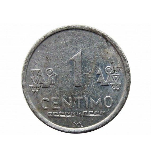 Перу 1 сентимо 2008 г.
