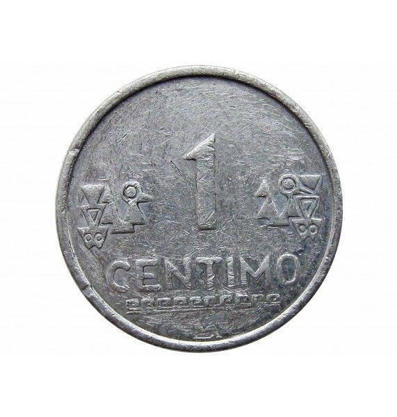 Перу 1 сентимо 2007 г.
