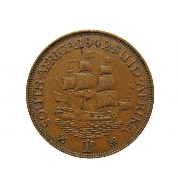 Южная Африка 1 пенни 1942 г.