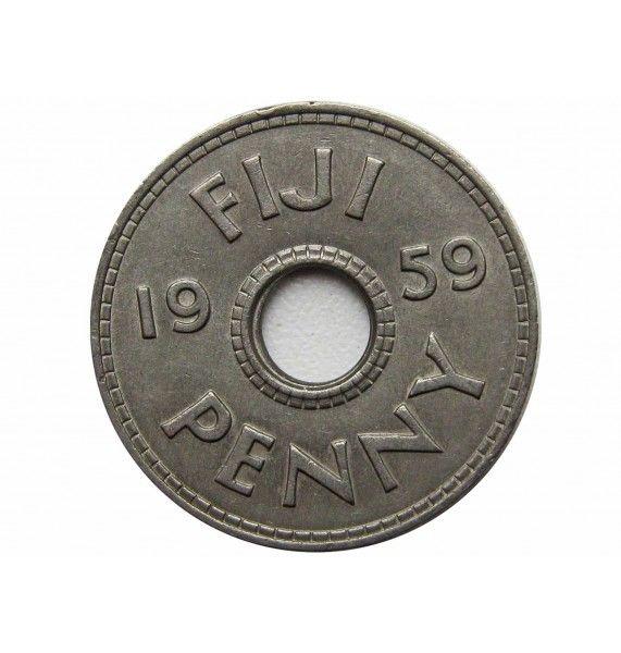 Фиджи 1 пенни 1959 г.