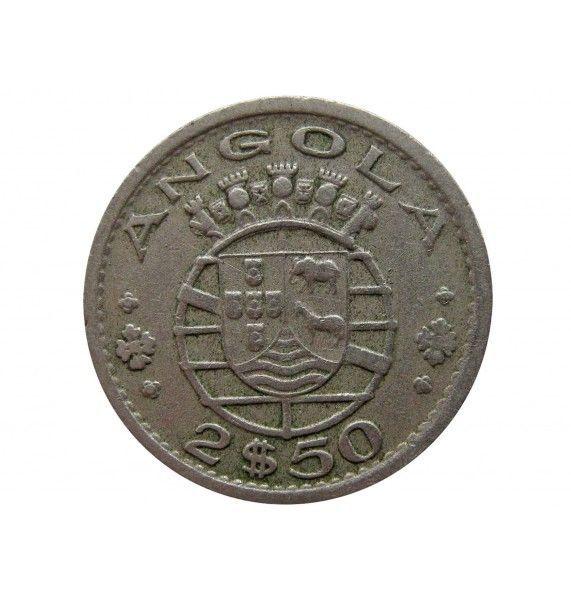 Ангола 2,5 эскудо 1956 г.