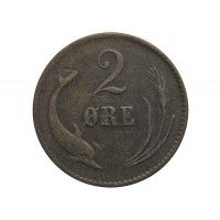 Дания 2 эре 1875 г.