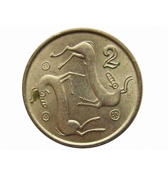 Кипр 2 цента 1996 г.