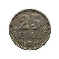 Дания 25 эре 1921 г.