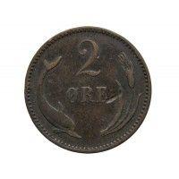 Дания 2 эре 1891 г.