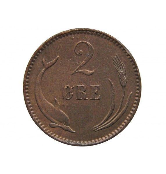 Дания 2 эре 1902 г.