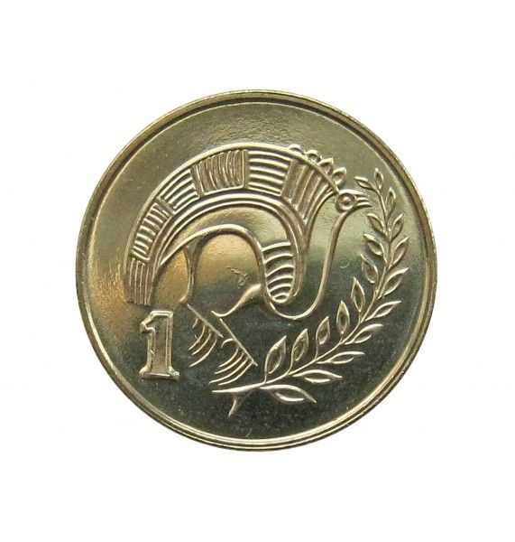 Кипр 1 цент 2004 г.
