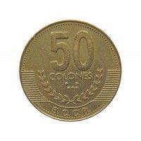 Коста-Рика 50 колон 1999 г.