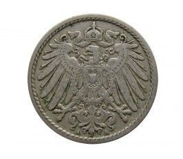 Германия 5 пфеннигов 1907 г. A