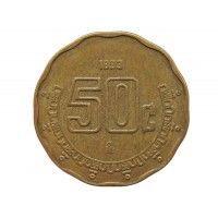 Мексика 50 сентаво 1993 г.