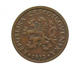 Чехословакия 10 геллеров 1933 г.