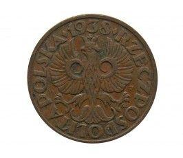 Польша 2 гроша 1938 г.