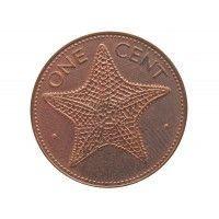 Багамы 1 цент 2004 г.