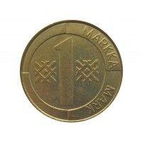 Финляндия 1 марка 1998 г.