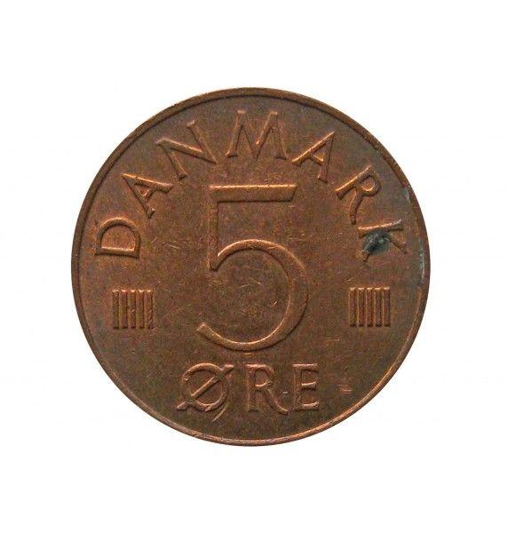 Дания 5 эре 1983 г.