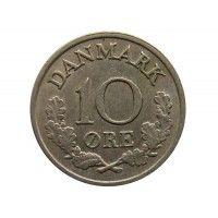 Дания 10 эре 1970 г.