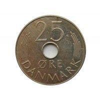 Дания 25 эре 1983 г.